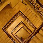 Stalin staircase by Lukasz Godlewski