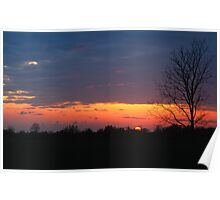 End of Another Great Day Poster