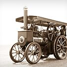Olive the Traction Engine by ChromaticTouch