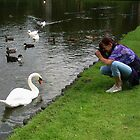 Jokus and The Swan by ienemien