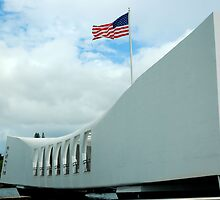 Arizona Memorial by Dave Kirkness