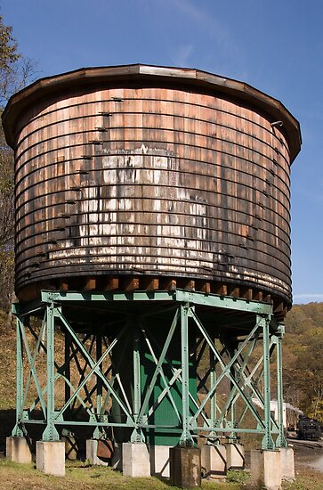 Water Tower by Susan Gottberg
