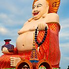 Smiling Buddha by Adrian Evans