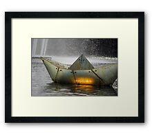 'Rainy Days' Framed Print