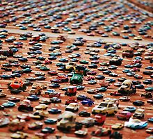 'Wall of Cars' by Luke Weinel