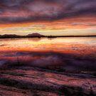 Sunset Inbetween by Bob Larson