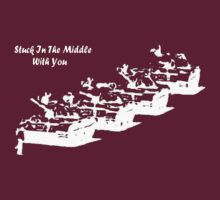 Stuck In The Middle With You!! by cjac