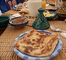 Moroccan pancake by Wendy Giles