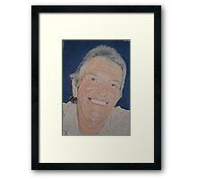 A fine man Framed Print