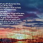 Memories of You ©  by Dawn M. Becker