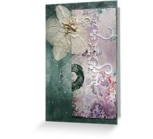The Moth Orchid Greeting Card