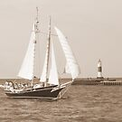 Schooner by Karen K Smith