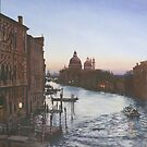 Venice........Dawn from the Acadamia Bridge by David McEwen