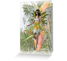 Lily the flower fae Greeting Card
