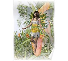 Lily the flower fae Poster