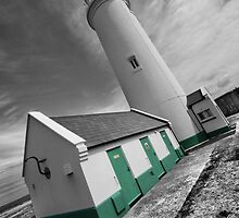 """""""Green with Envy"""" - Hurst Point Lighthouse by silvcurl09"""
