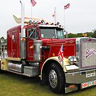 Peterbilt Truck by mike  jordan.