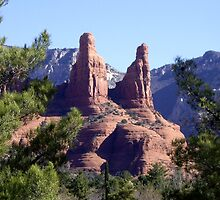 Red Rock Sentinels by John Carpenter