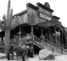 Old West Saloon, Arizona by John Carpenter