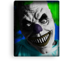 "Stephen King ""IT"" Inspired - Scary Clown Canvas Print"