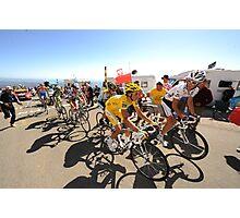 Grimpeurs Andy Schleck & Alberto Contador - 2009 Tour de France Photographic Print