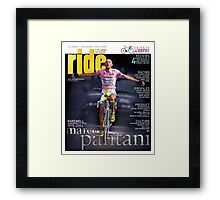 RIDE Cycling Review Issue 24 - Marco Pantani Framed Print