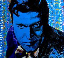Portrait. 'Orson Wells' by Cat Leonard