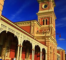 Albury Railway Station. by Petehamilton