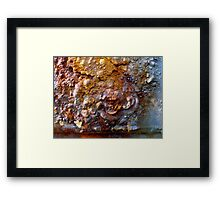 Devil in the Details Framed Print