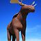 Mac the Moose, Moose Jaw, Saskatchewan by Teresa Zieba