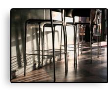 Coffee Bar Canvas Print