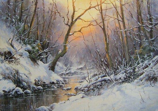 Winter Trees by JoeHush