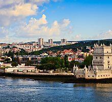 Belém Tower (Torre de Belém) Lisbon, Portugal by David Lewins