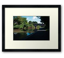 Worcester to Birmingham canal revisited Framed Print