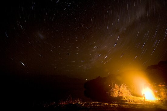Fire and Stars by Michael Treloar