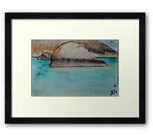 Green's Pool Denmark Framed Print
