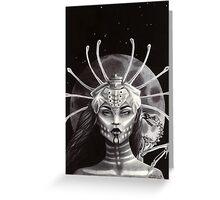 The Bone Goddess Greeting Card