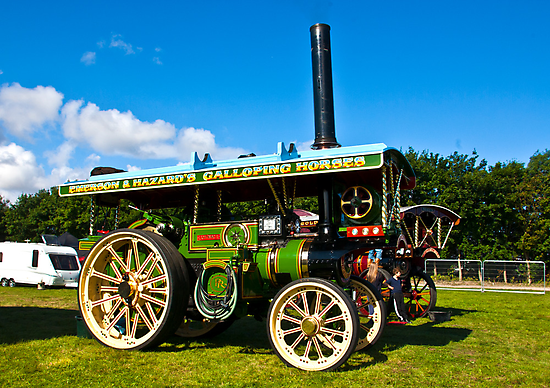 Burrell Showmans Road Locomotive by Trevor Kersley