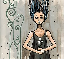 The Flower Girl by Rebecca Lesny