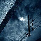 Street reflection by Laurent Hunziker