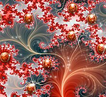 Fractal Floral Gems # 1 by Junior Mclean