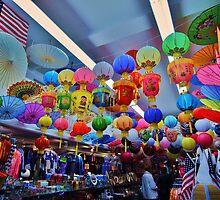 Lanterns and Umbrellas by Stephen Burke