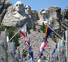 Mount Rushmore by worldwideart