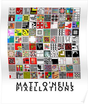 Pixellations (Composite) by Matt O'Neill