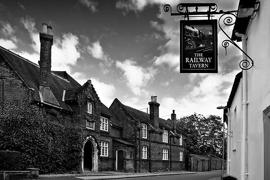 The Railway Tavern, Holt by Hannah Edwards