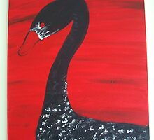 Black Swan or Blood Goose by deathbybbq