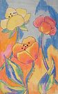 Fun Fauvist Flowers by Alexandra Felgate