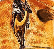 Camel Rider by Dawn B Davies-McIninch