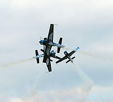 The Blades R.A.F. Display team.  by JanSmithPics