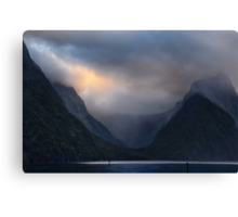 Glacial Valley Canvas Print